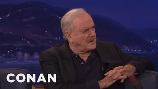 John Cleese Is Looking Forward To KGB-Trained President Trump  - CONAN on TBS