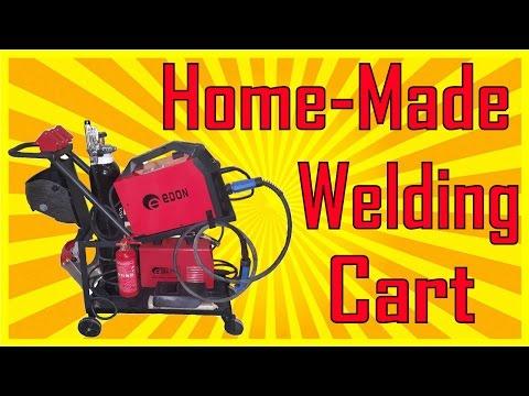 Welding Cart Made From Scrap