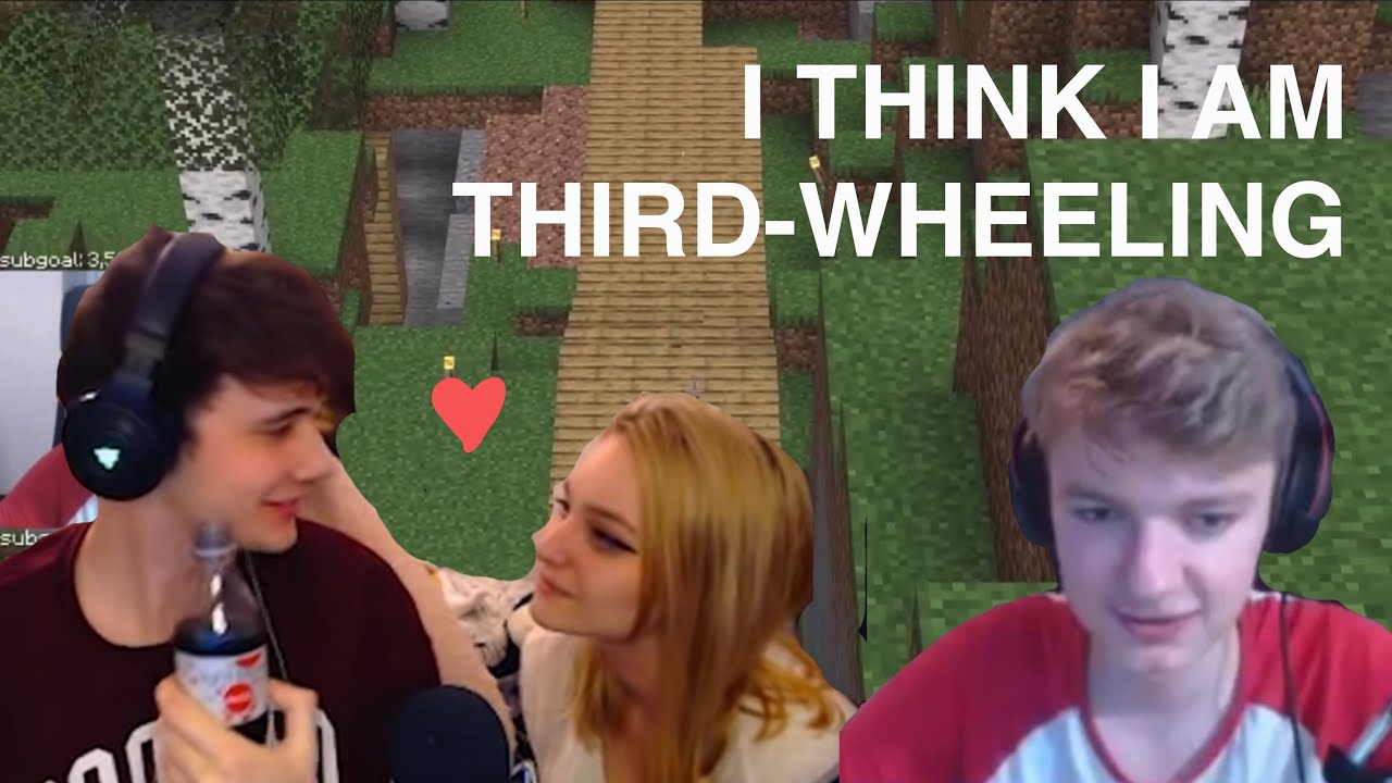 wilbur and niki gets third-wheeled by tommy (stream highlights)