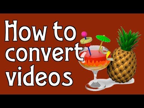 How to convert videos using Handbrake