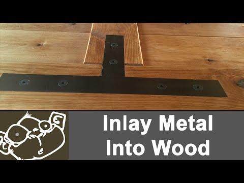 Inlaying Metal into Wood
