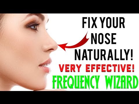 ⚡️GET A NATURAL RHINOPLASTY FAST! FIX YOUR NOSE NATURALLY! SUBLIMINAL AFFIRMATIONS FREQUENCY