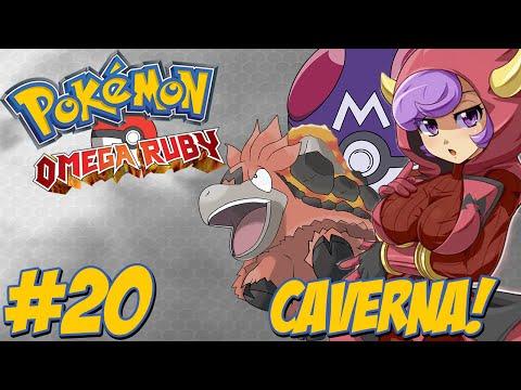 Pokémon Omega Ruby #20 / Caverna do Team Magma / Master Ball / Novidade!!