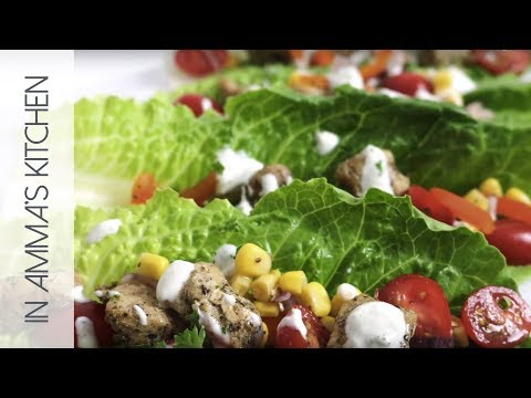 How To Make Lettuce Wraps With Chicken