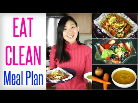 My EAT CLEAN Meal Plan (Full Recipes)