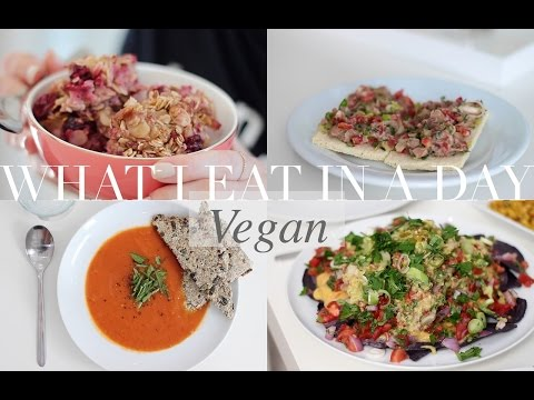 What I Eat in a Day #15 (Vegan/Plant-based) | JessBeautician