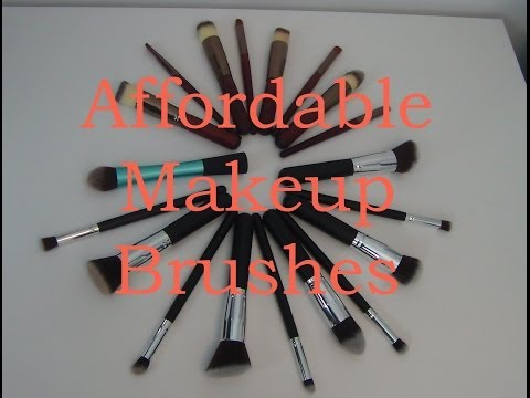 Affordable Makeup Brushes from Ebay - Are they worth it?