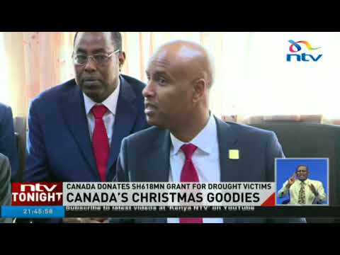 Canada donates ksh618m grant for drought victims
