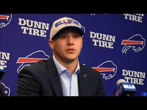 Josh Allen on how he plans to address Bills teammates after his tweets