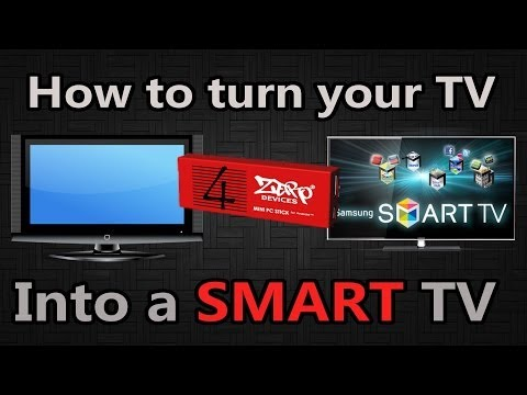 How to turn every TV into a Smart TV - Zero Devices Z4C Quattro [HD]