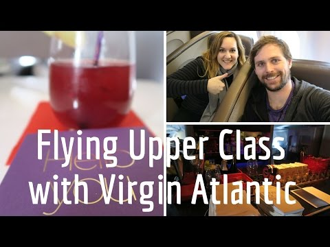 Flying Upper Class London to San Francisco with Virgin Atlantic