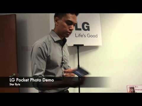 First Looks: LG Pocket Photo
