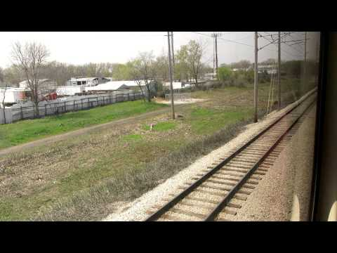 NICTD train ride from Michigan City 11st to Chicago Millenium station.