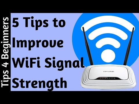 How to Boost WiFi Signal Strength : 5 Tips For WiFi Router improve | Optimize WiFi Tips Tricks