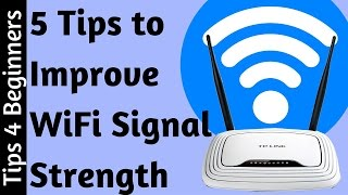 How To Boost Wifi Signal Strength 5 Tips For Wifi Router Improve Opti