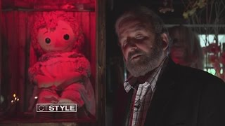 Ryan visits the Annabelle Doll at The Warren
