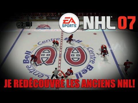 JE RETOURNE EN ENFANCE!! | NHL 07 (QC,FR)