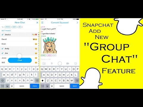 Snapchat Add New