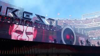 WrestleMania 31 - Triple H Entrance w/ Terminator