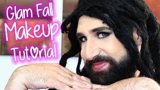 💄MAKEUP TUTORIAL: Warm Fall Glam Makeup 💄| Maquillando Con Natalia #1
