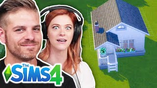Single Girl Hires A Residential Designer To Build Her Daughter A Tiny Home In The Sims 4