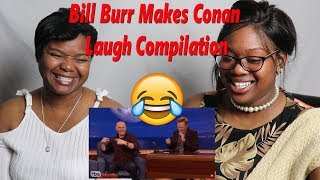😂 Bill Burr Making Conan Laugh Compilation Reaction | Mom Reacts