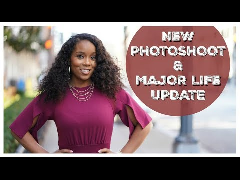 New Photoshoot & MAJOR Life Changes!! | #MomLife
