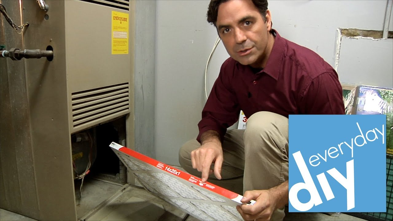 How to Change a Furnace Filter -- Buildipedia DIY