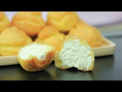 เอแคลร์ เอแคลร์ไส้ครีม Eclairs Cream puff