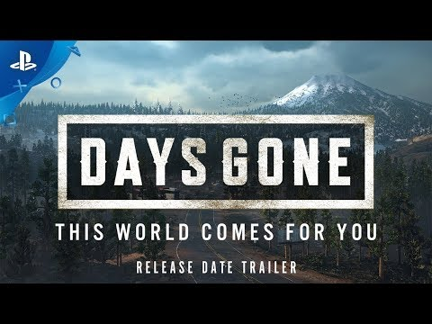 Days Gone   Release Date Announcement   PS4