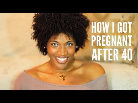 How I Got Pregnant After 40