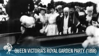 Queen Victoria Arrives at a Royal Garden Party (1898) | British Pathé