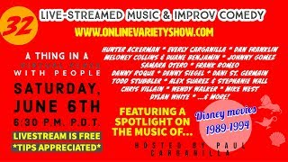 Paulie's Online Variety Show 32 - LIVE!