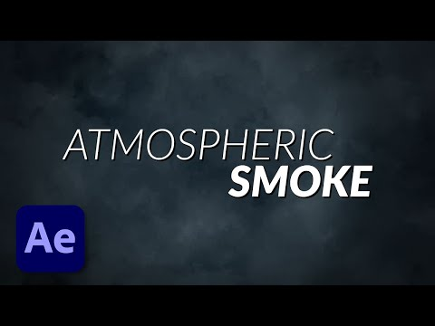 How To Fake Atmospheric Smoke Animation Effects in Adobe After Effects using Fractal Noise Tutorial