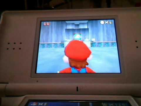 Super Mario 64 DS How to Unlock Luigi
