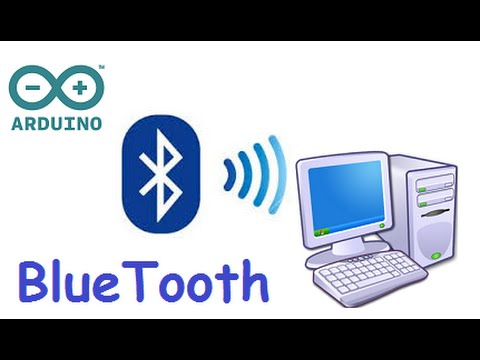 Control arduino with with PC over bluetooth