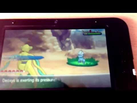 (CLOSED)Shiny Deoxys Giveaway - Pokemon X And Y