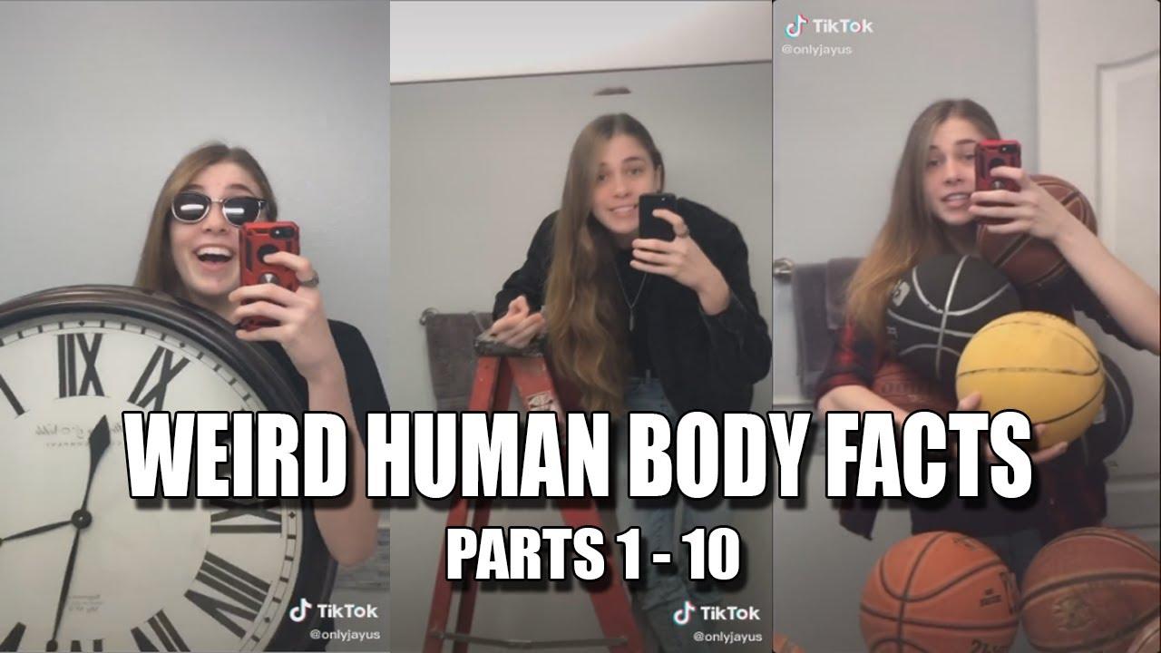 """ONLYJAYUS """"Weird Human Body Facts'"""" Parts 1-10 Tik Tok"""