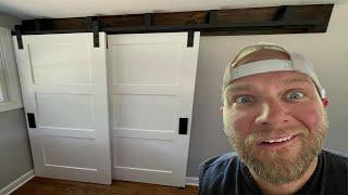 Barn Door installation for Dummies (BYPASS DOORS)