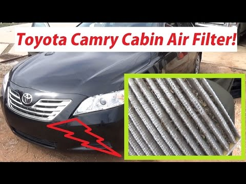 Toyota Camry Cabin Air Filter Replacement in 1 MINUTE! 2007 - 2011 Toyota Camry