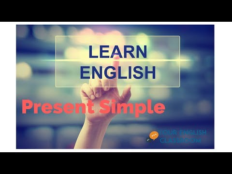 Learn English Grammar - How To Use Present Simple Tense CORRECTLY  in English.