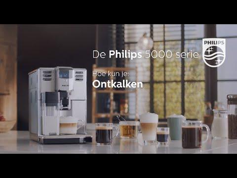 Philips EP5365 Espressomachine 5000serie Hoe ontkalk ik de machine