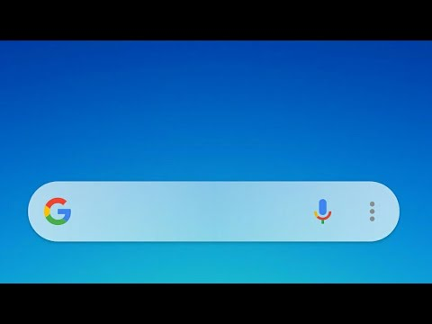 How to get new Google search bar widget in any device (no root, very easy steps)