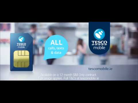 Flick the Switch- SIM only €25 a month | Tesco Mobile