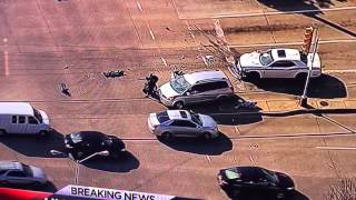 Woman In Minivan Stops High Speed Chase in Dallas - 2/11/15 - MAMA BEAR