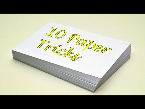 10 FANTASTIC THINGS CAN BE MADE WITH PAPER | LIFE HACKS!