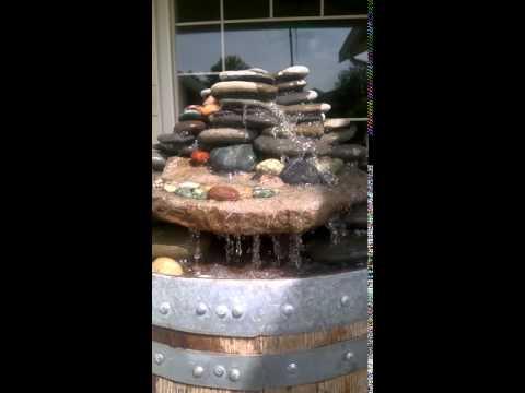It's Wine Barrel Fountain Time!!