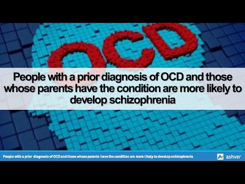 People with a prior diagnosis of OCD and those whose parents have the condition are more likely