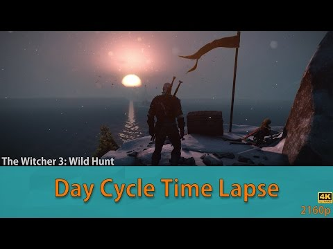 The Witcher 3: Wild Hunt Weather/Day Cycle Time Lapse!