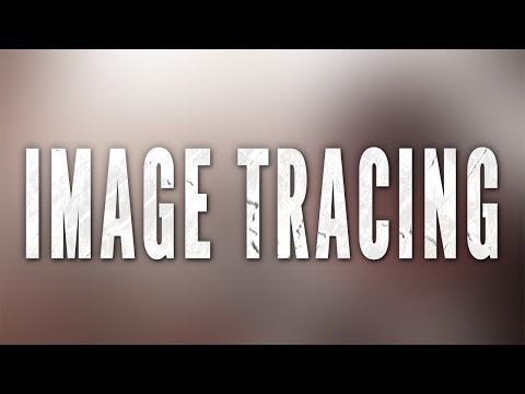 Illustrator CS6 CC Tutorial: How To Vectorise Any Image With Image Tracer